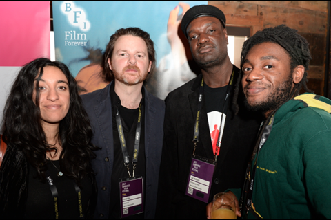 Rubika Shah, Ed Gibbs, Stil Williams, and Mdhamiri Nkemi